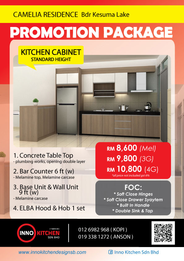 Kitchen Cabinet Malaysia Promotion